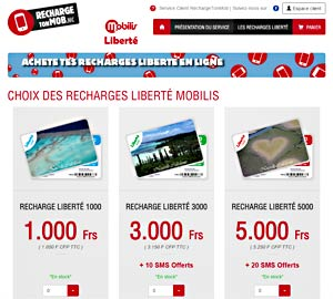 New Caledonia Cell Phone Recharge Online – Two At Sea