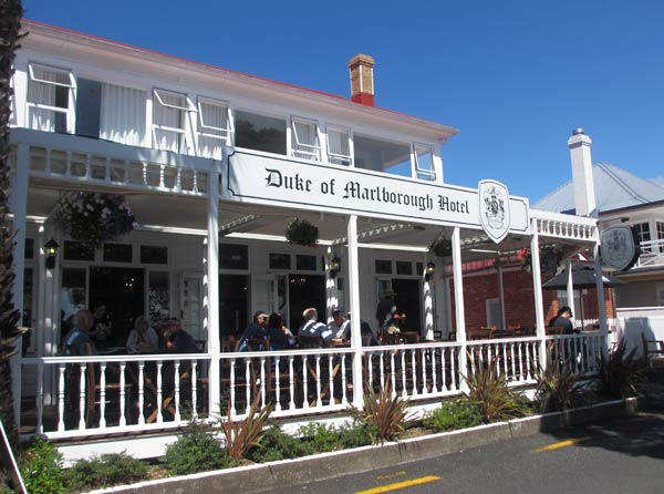 The duke of marlborough hotel russell bay of islands for Hotels ussel