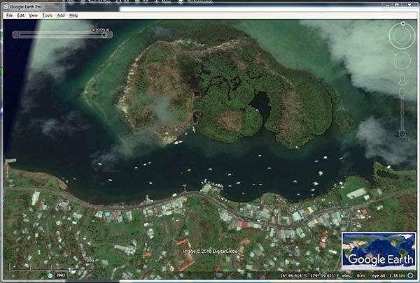 Fiji Bound Boats Two At Sea